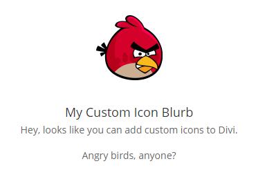 custom divi icons