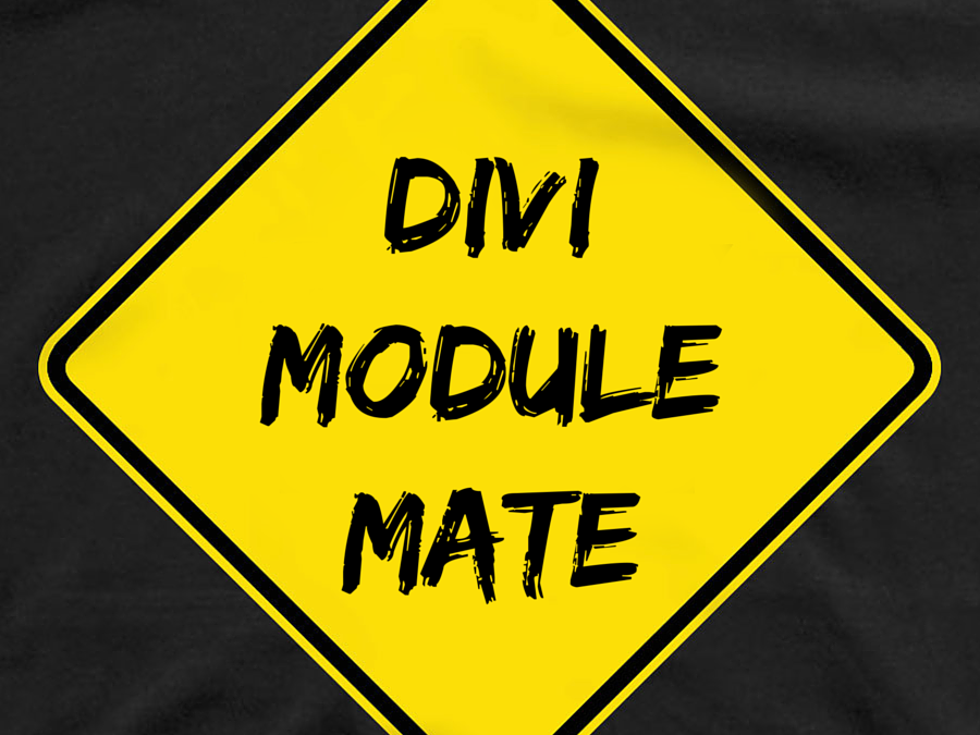 Divi Module Mate now Divi 3 Compatible